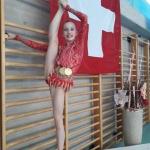 Anastasia Weder SM 2018 in Biasca: 3x Gold und 1x Bronze